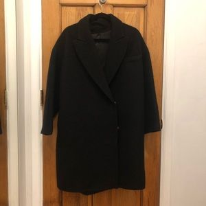 & OTHER STORIES Brushed Wool Coat